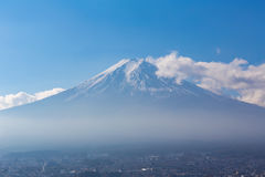 Fuji Mt. with clear blue sky Royalty Free Stock Images