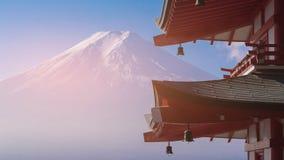 Fuji Mt härlig naturlig vulkan arkivfoton
