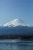 Fuji no lago Kawaguchiko Imagens de Stock