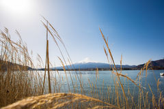 Fuji no lago Kawaguchiko Imagem de Stock Royalty Free
