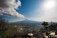 Fuji no lago Kawaguchiko Fotos de Stock