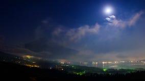 Fuji Panoramadai viewpoint at night Royalty Free Stock Image