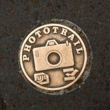 Fuji Phototrail plaque Stock Image