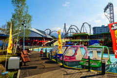 Fuji-Q Highland amusement park Stock Image