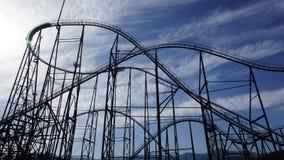 Fuji Q Highland Roller Coaster stock photography