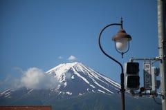 Fuji san chiaro nel Giappone fotografie stock libere da diritti