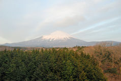 Fuji san. Mountain fuji san from japan Stock Photography