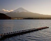 Fuji san #1. Mt. Fuji from Lake Kawaguchi Stock Image
