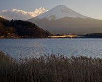 Fuji san #2. Mt. Fuji from Lake Kawaguchi Stock Images