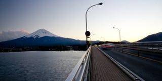 Fuji san #3. Mt. Fuji from Lake Kawaguchi Royalty Free Stock Photography