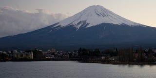 Fuji san #5. Mt. Fuji from Lake Kawaguchi Stock Photos