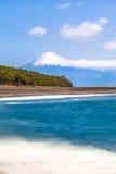 Fuji-San and Shizuoka Coast Royalty Free Stock Images
