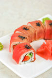 Fuji Sushi rolls Royalty Free Stock Photos
