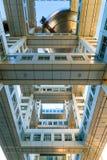 Fuji T.V. headquarters in Odaiba, Tokyo, Japan Stock Image