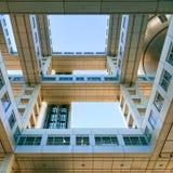 Fuji T.V. headquarters in Odaiba, Tokyo, Japan Stock Photography