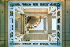Fuji T V hoofdkwartier in Odaiba, Tokyo, Japan Stock Foto