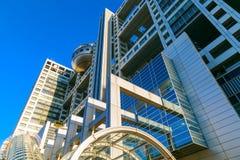 Fuji T V kwatery główne w Odaiba, Tokio, Japonia Zdjęcie Stock