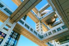 Fuji T V kwatery główne w Odaiba, Tokio, Japonia Obrazy Stock