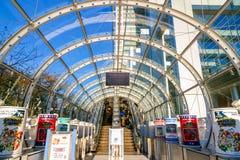 Fuji T V kwatery główne w Odaiba, Tokio, Japonia Zdjęcie Royalty Free