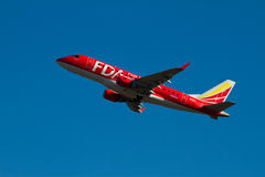 FUJI-TRAUMfluglinien ERJ 170 lizenzfreies stockfoto