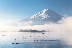 Fuji van de goedemorgen fuji Stock Afbeeldingen