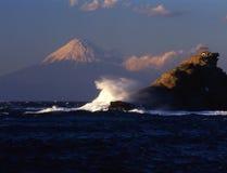 Fuji van MT Stock Fotografie