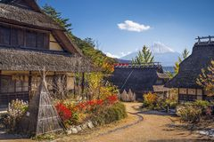 Fuji Village Stock Image