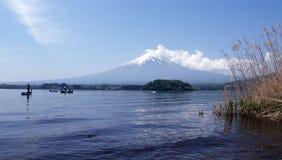 Fuji vom Kawakuchi See Lizenzfreie Stockbilder