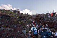 Fuji-Wandern Lizenzfreies Stockbild