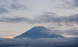Fuji widok górski Obrazy Royalty Free