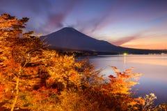 Fuji at Yamanakako Lake Royalty Free Stock Images