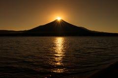 Fuji z diamentem Obraz Royalty Free