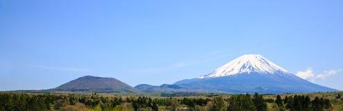 Fuji zet op Stock Foto's