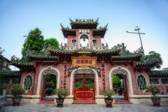 Fujian Assembly hall - Hoi An - Quang Nam - Central Vietnam Royalty Free Stock Photos
