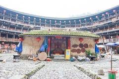 FUJIAN, CHINA - Jan 03 2016: Yuchanglou at Tianloukeng Tulou Sce Stock Image