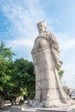 FUJIAN, CHINE - 29 décembre 2015 : Cai Xiang Statue au pont de Luoyang Photo libre de droits