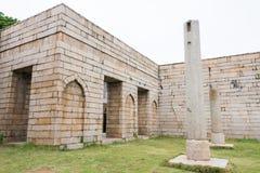 FUJIAN, CHINE - 26 décembre 2015 : Mosquée de Qingjing un historique célèbre Images stock