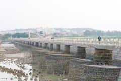 FUJIAN, CHINE - 29 décembre 2015 : Pont de Luoyang un S historique célèbre Photos libres de droits