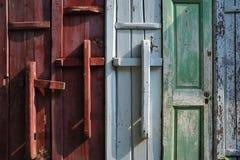Fujian dwellings Stock Images
