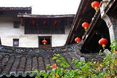Fujian jord- strukturer Arkivfoto