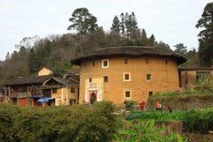 Fujian jord- strukturer Royaltyfria Bilder