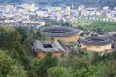 Fujian jord- strukturer Royaltyfri Bild