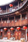 Fujian jord- strukturer Arkivfoton
