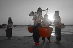 Fujian quanzhou person-besök Fotografering för Bildbyråer