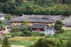 Fujian Tulou: Κινεζικό παραδοσιακό εγχώριο προαύλιο Στοκ φωτογραφίες με δικαίωμα ελεύθερης χρήσης