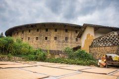 Fujian Tulou: Κινεζικό παραδοσιακό εγχώριο προαύλιο Στοκ Εικόνες