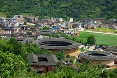 Fujian Tulou foto de archivo