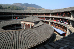 Fujian-tulou Stockbild