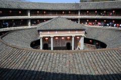 Fujian tulou Royaltyfri Fotografi