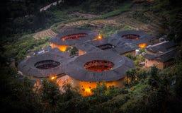 Fujian Tulou. China  China Royalty Free Stock Photo